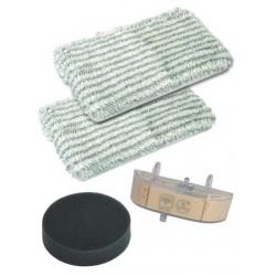 Kit 2 lingettes + 1 cassette + 1 filtre