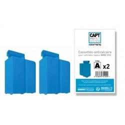 Pack de 2 cassettes anticalcaires TYPE A