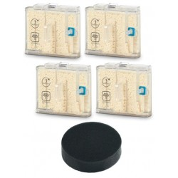 Pack 4 Cartouches anti-calcaire + 1 filtre